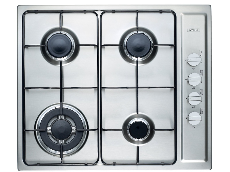 Emilia SEC64GWI 60cm Natural Gas Cooktop