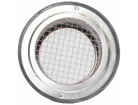 Appliances Online Sirius 200mm Round Stainless Steel Eave Vent with Insect Mesh SEV-200