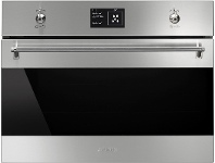 Appliances Online Smeg 45cm Classic Aesthetic Compact Speed Oven SFA4395MCX
