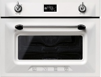 Appliances Online Smeg SFA4920VCB 45cm Victoria Aesthetic Compact Combi-Steam Oven