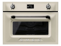 Appliances Online Smeg SFA4920VCP 45cm Victoria Aesthetic Compact Electric Built-In Combi-Steam Oven