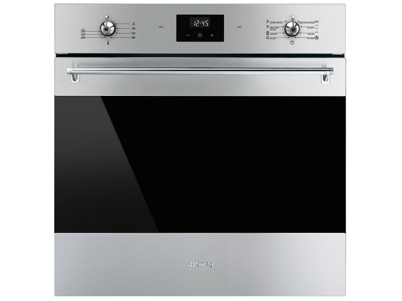 Smeg SFPA6300X 60cm Classic Aesthetic Pyrolytic Built-In Oven