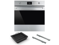 Appliances Online Smeg 60cm Classic Thermoseal Pyrolytic Built-In Oven with Accessory Pack SFPA6301TVXPACK1