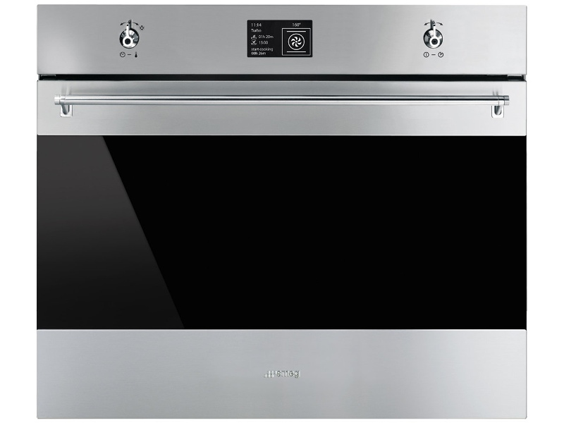 Smeg SFPA7395X2 70cm Classic Aesthetic Pyrolytic Built-In Oven