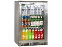 Appliances Online Rhino 110L Heated Glass Door Bar Fridge SG0R-HD