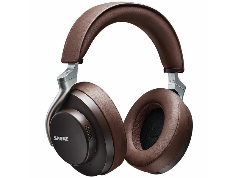 Shure Aonic 50 Wireless Noise Cancelling Headphones Brown SHR-SBH2350-BR