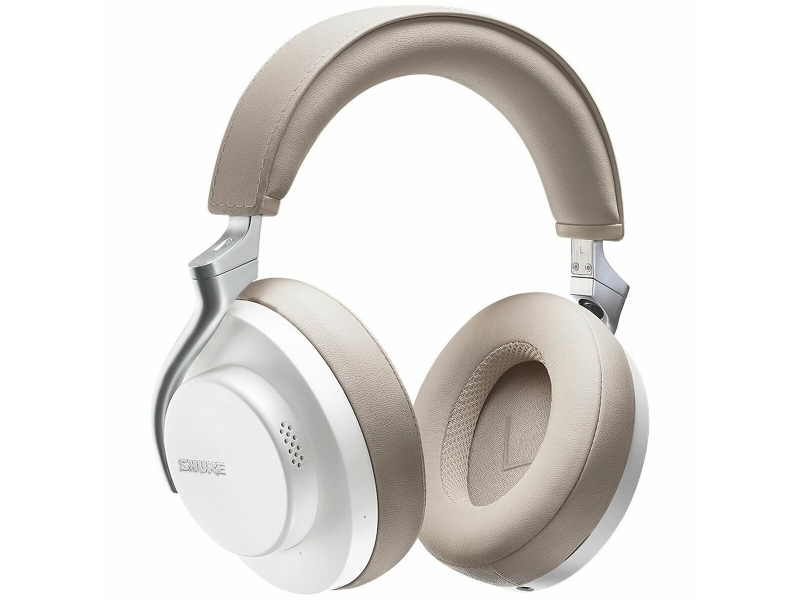 Shure Aonic 50 Wireless Noise Cancelling Headphones White SHR-SBH2350-WH