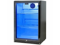 Appliances Online Schmick 118L Black Stainless Steel Bar Fridge Left Hinged SK118L-BS