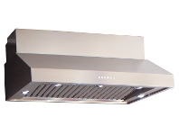Appliances Online Sirius SLEM83BBQ1200SEM7XS3 120cm Canopy BBQ Rangehood with External Motor