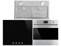 Appliances Online Smeg 60cm Pyrolytic Oven, 60cm Induction Cooktop & 52cm Under Cupboard Rangehood Pack SMEGSTYLEPACK5