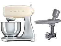Appliances Online Smeg SMF01CRAUSMMGO1 50s Retro Style Stand Mixer with Multi Food Grinder