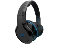 SMS Audio STREET by 50 Over-Ear Wired Headphones - Black SMH011
