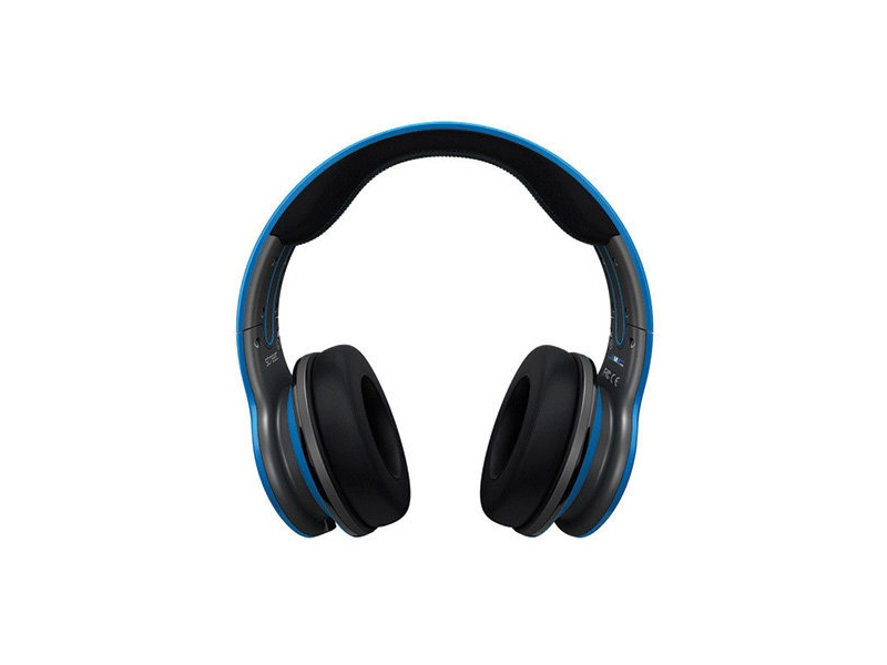 SMS Audio STREET by 50 SMH012 Over-Ear Wired Headphones - Blue