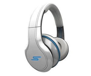 SMS Audio STREET by 50 Over-Ear Wired Headphones - White SMH013