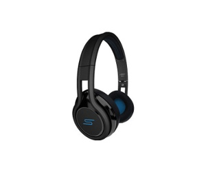 SMS Audio STREET by 50 Wired On-Ear Headphones - Black SMH050