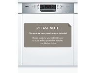 Appliances Online Bosch SMI46GS01A Serie 4 Semi Integrated Dishwasher