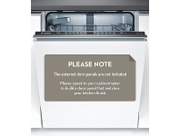 Appliances Online Bosch SMV46GX01A Serie 4 Fully Integrated Dishwasher