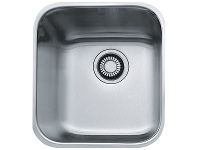 Appliances Online Franke SQX110-36-2 Steel Queen Single Bowl Undermount Sink