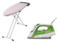 Appliances Online Sunbeam ProSteam Glide Iron and Mode Ironing Board Pack SR4110SB4400