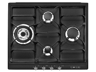 Appliances Online Smeg SRA964NGH 60cm Victoria Aesthetic Natural Gas Cooktop
