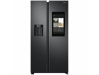 Appliances Online Samsung 656L Family Hub Side By Side Fridge Matte Black SRS656MBFH4