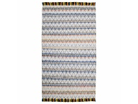 Appliances Online Cadrys Summer Diamond Blue 250x300 Rug