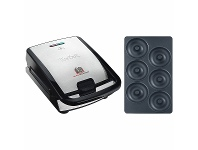 Appliances Online Tefal Snack Collection Sandwich and Waffle Maker with Donut Plate Attachment SW852-8011