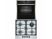Appliances Online NEFF 60cm Natural Gas Cooktop & 60cm Pyrolytic Oven Pack T26DS59N0AB57CR22N0B