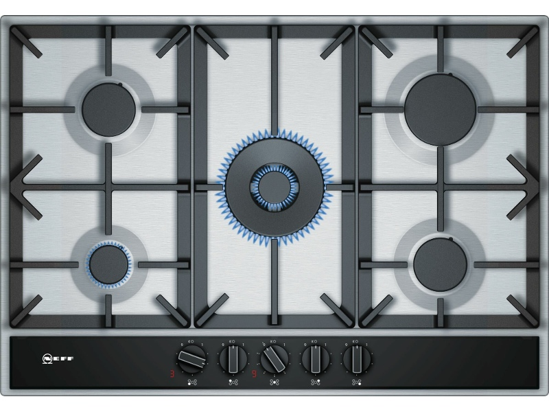 NEFF T27DA69N0A 75cm Natural Gas Cooktop