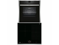 Appliances Online NEFF 60cm Induction Cooktop & 60cm Pyrolytic Oven Pack T56TS31N0B57CR22N0B