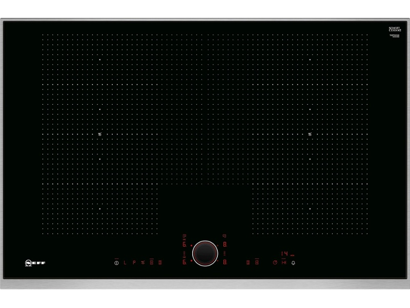 NEFF T68TS61N0 80cm Induction Cooktop with TwistPad Control