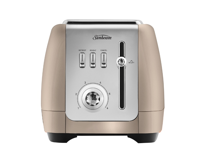 Sunbeam TA2220CP London Collection 2 Slice Toaster