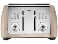 Appliances Online Sunbeam TA2240CP London Collection 4 Slice Toaster