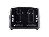 Appliances Online Sunbeam Simply Stylish Black 4 Slice Toaster TAP4004BK
