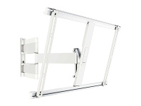 Vogel's THIN545W Extra Thin Full Motion TV Wall Mount For 40 to 65 Inch TVs White