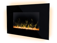 Appliances Online Dimplex Toluca Deluxe Wall Mounted Electric Fire Heater TLC20LX-AU
