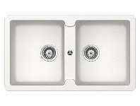 Abey TN200W Schock Typos Double Bowl Sink