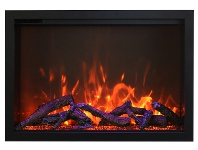"""Appliances Online Amantii TRD-30 30"""" Electric Fireplace Insert"""