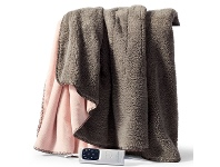 Appliances Online Sunbeam Feel Perfect Snug & Cosy Reversible Heated Throw TRF4000