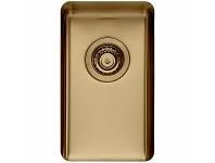 Appliances Online Titan Small Single Bowl Sink Brass TSBR28