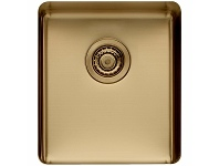 Appliances Online Titan Medium Single Bowl Sink Brass TSBR40