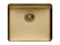 Appliances Online Titan Large Single Bowl Sink Brass TSBR52