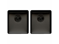 Appliances Online Titan Medium and Medium Double Bowl Sink TSBS4040
