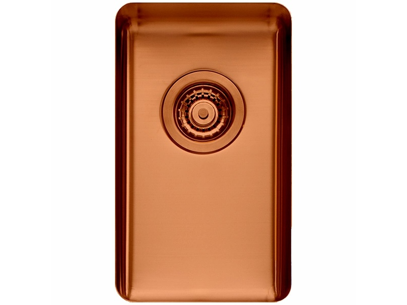 Titan Small Single Bowl Sink Copper TSCP28