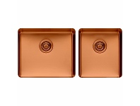 Appliances Online Titan large and Medium Bowl Sink Copper TSCP4052