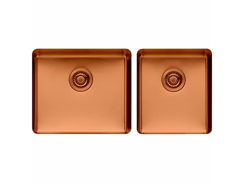 Titan large and Medium Bowl Sink Copper TSCP4052