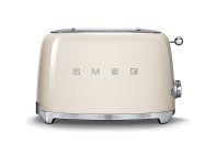 Appliances Online Smeg TSF01CRAU 50s Retro Style 2 Slice Toaster Cream