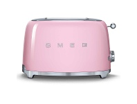 Appliances Online Smeg TSF01PKAU 50s Retro Style 2 Slice Toaster Pink