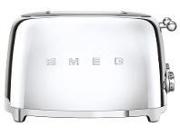 Appliances Online Smeg TSF03SSAU 50's Style 4 Slice Toaster Chrome