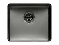 Appliances Online Titan Large Single Bowl Sink gunmetal TSGM52